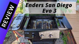 Aus dem Bulaland Garten: Enders San Diego Evo 3 Grill Review nach 3 Monaten