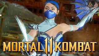 "The Power Of The ROYAL BOOTY! - Mortal Kombat 11 ""Kitana"" Gameplay"