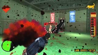 60FPS No More Heroes HD Rank 2 Boss Battle  Bad Girl 720p + HD Cutscenes