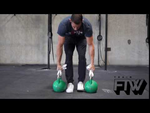 Towel Kettle Bell Hold