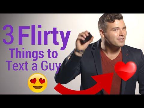 3 Flirty Ways to Text a Guy You Like