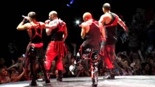 JLS - Go Harder live at Birmingham's LG Arena 16/3/12