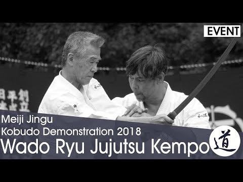 Wado Ryu Jujutsu Kenpo - Otsuka Hironori - Meiji Jingu Kobudo Demonstration 2018