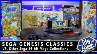Sega Genesis Classics (PS4 XBO) VS. Other Sega Mega Collections :: Game Showcase
