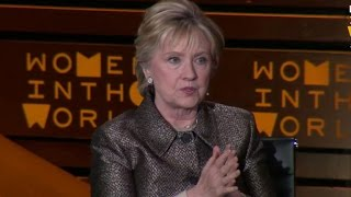Hillary Clinton speaks out on Syria - Video Youtube