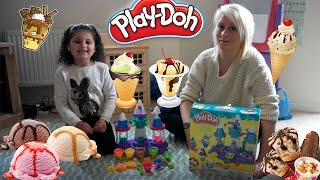 Playdoh Ice Cream Castle Fun!!!! With Princess CT!!!