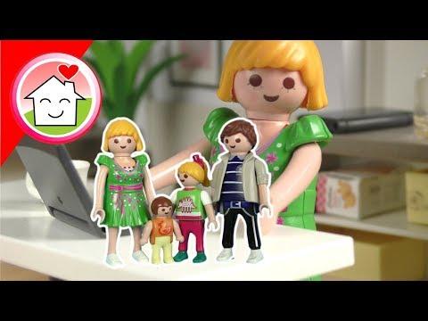 Playmobil Familie Hauser Frage und Antwort Video für Kinder - Spielzeug Kinderfilme