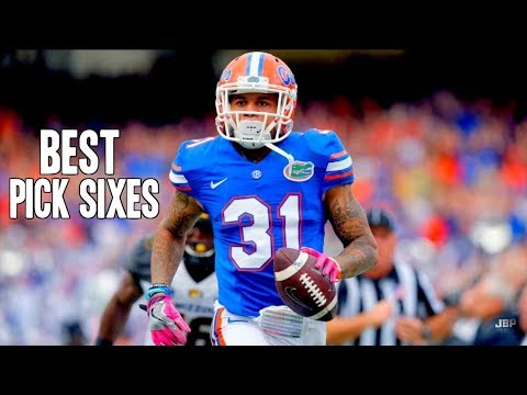 Best Pick Sixes of the 2016-17 College Football Season ᴴᴰ