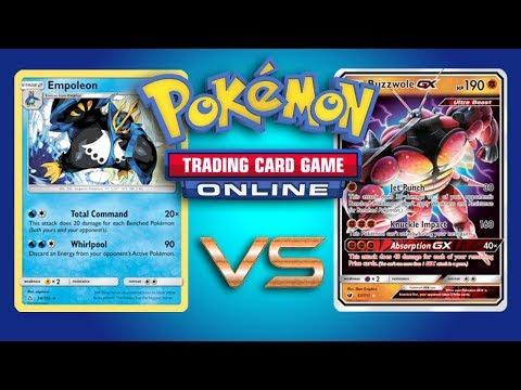 Empoleon vs Random Decks – Pokemon TCG Online Gameplay