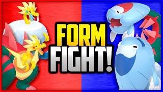 Arctozolt  - (Pokémon) - Dracozolt vs Arctozolt vs Dracovish vs Arctovish | Pokémon Form Fight (Sword & Shield) 4K