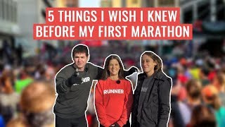 5 Things You Wish You Knew Before Your First Marathon