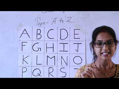 Class PG & Nursery English | By Manita Ma'am | Monastic Online Classes