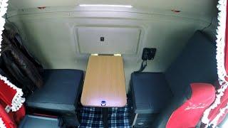 1#Купе - Трансформер в кабине Scania своими руками