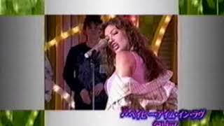 Thalia Baby I m in Love FujiTV Japan 12 10 2003