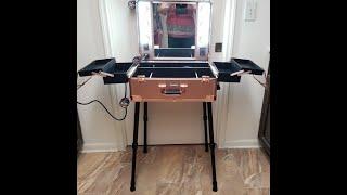 Kemier Makeup Case,Professional Artist Studio Cosmetic Train