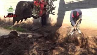 preview picture of video 'طفس :: صيانة شبكات مياه الشرب في المدينة'