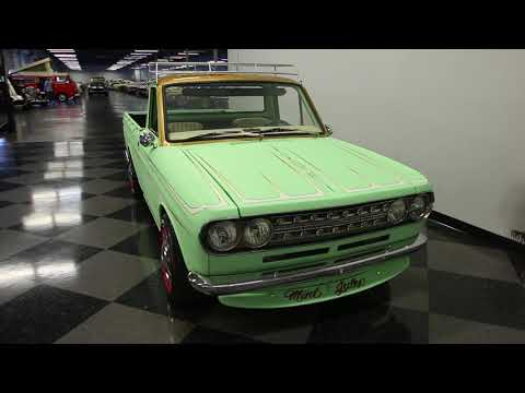 Video of 1972 Datsun 1600 520 Pickup - $9,995.00 Offered by Streetside Classics - Tampa - MB90