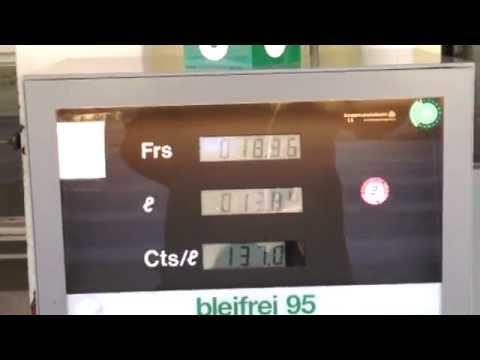 Chonda ziwik, wie das Benzin zusammenzuziehen