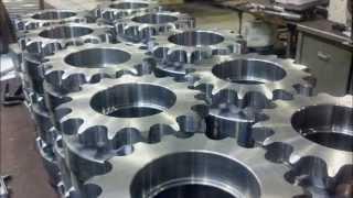 CNC milling a sprocket