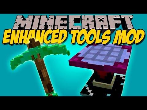 ENHANCED TOOLS MOD - Herramientas MAS Mejores!!! - Minecraft mod 1.9 Review ESPAÑOL
