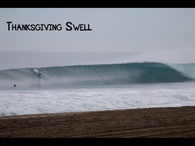 Thanksgiving Surf Session