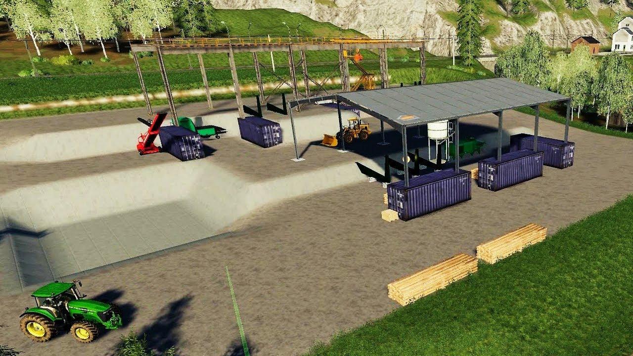 FS19 - Building a Sawmill on Felsbrunn