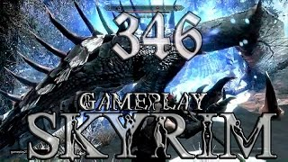 Skyrim 346 Сражение с морозным драконом на легендарной сложности