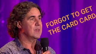 Micky Flanagan FORGOT TO GET THE CARD CARD Sketch