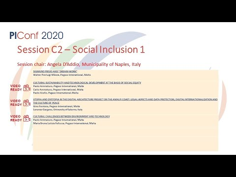 Session C2 - Social Inclusion 1