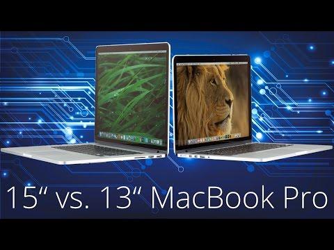 13 vs. 15 Zoll MacBook Pro Vergleich | Kaufberatung | TechnikTester