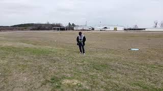 Flying Drones Kitty Hawk field San Antonio, TX