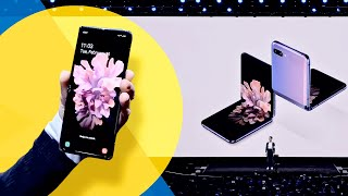 Galaxy Z flip's BIG REVEAL: Samsung introduces its new foldable phone