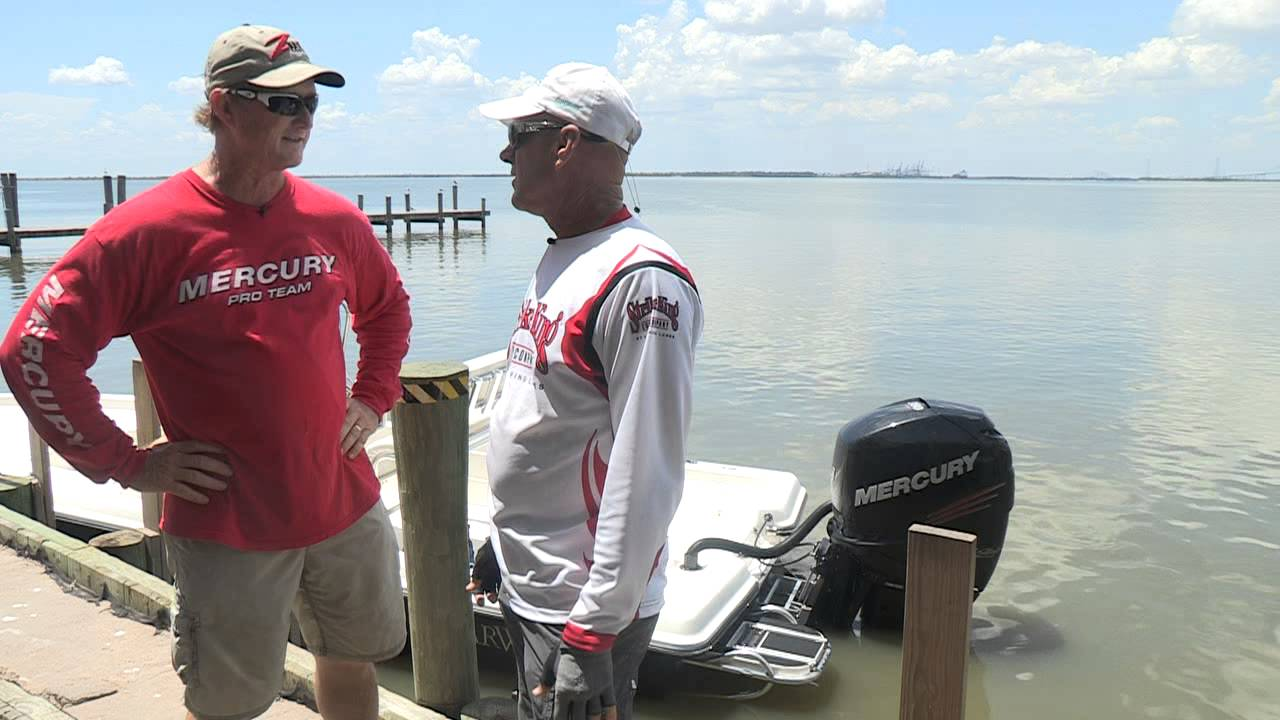 721bf77b95 Barry Stokes Interviews Mercury Outboards Pro-Staffer Captain Tim Young at  Trinity Bay