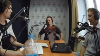 Фридайвер Алексей в эфире  радиостанции.