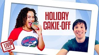 FUN & FESTIVE Holiday Cakie-Making Competition | Yolanda Gampp VS Orhan | How To Cake It