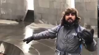 """Halal olsun !!! İrəvanın mərkəzində """"Ölürüm, Türkiyəm"""" mahnısı uxudu"""