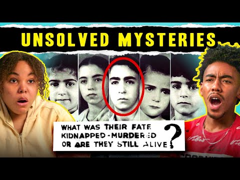 Teens React To Unsolved Mysteries (Rey Rivera, Sodder Children, Roswell UFO)