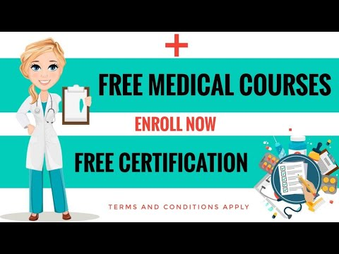 5 Free Medical Courses | Free Certificates | By Capc - YouTube