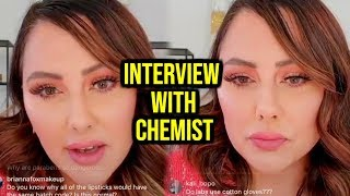 MARLENA STELL INTERVIEWS CHEMIST OVER JACLYN COSMETICS!