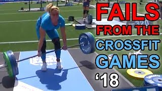 Exercises in Futility - Fails from the CrossFit Games 2018
