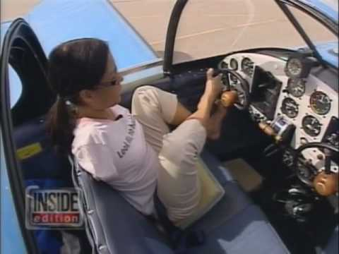 Steering a Plane Using Feet Only!