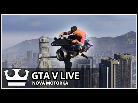 Jirka a GEJMR hraje - GTA V Online - Nová motorka Oppressor MK2 [ LIVE ]