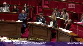 Intervention en hémicycle sur le nouveau pacte ferroviaire !