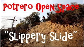Potrero Open Space from Wendy Dr. (First time riding these unmarked trails)