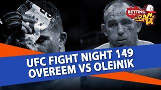 How To Bet UFC St Petersburg | Overeem vs Oleinik Predictions | UFC Betting Tips