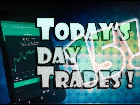 Robinhood APP – $50 DAY TRADE | MAKE MONEY Day Trading!