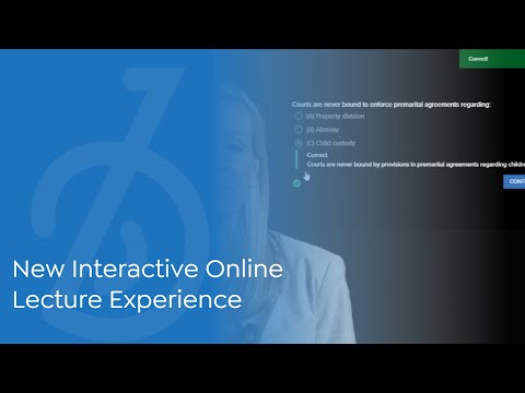 New Interactive Online Lecture Experience   BARBRI Bar Prep ...