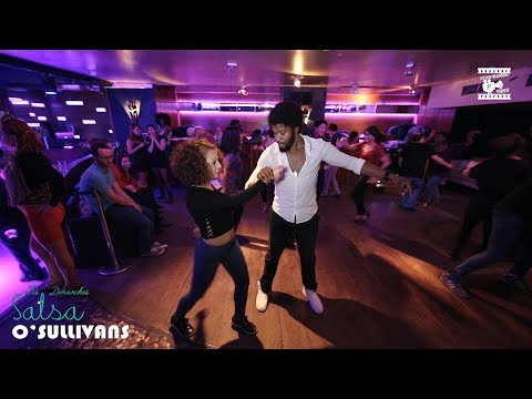 Terry SalsAlianza & Ma Nou - social dancing @ Salsa O'Sullivans Paris