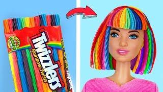 12 лайфхаков и поделок с Барби / Съедобная одежда и аксессуары для Барби