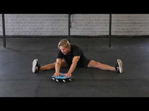 Seated Superficial Back Line Stretch